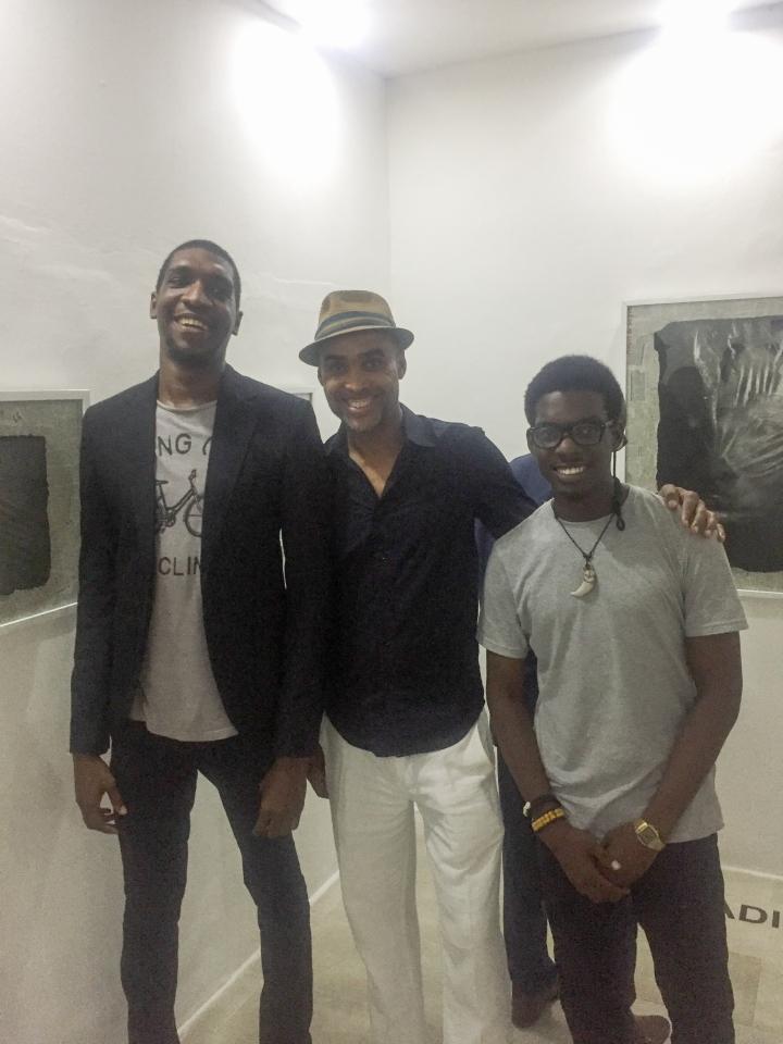 Jide Pinheiro, Ade Bantu & Ken Nwadiogbu