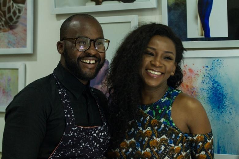 Actress Genevieve Nnaji & Photographer Lakin Ogunbanwo