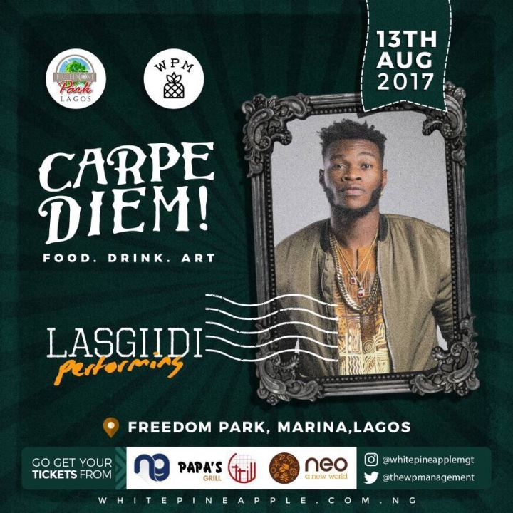 Lasgiidi - Carpe Diem! Freedom Park Food . Drink . Art