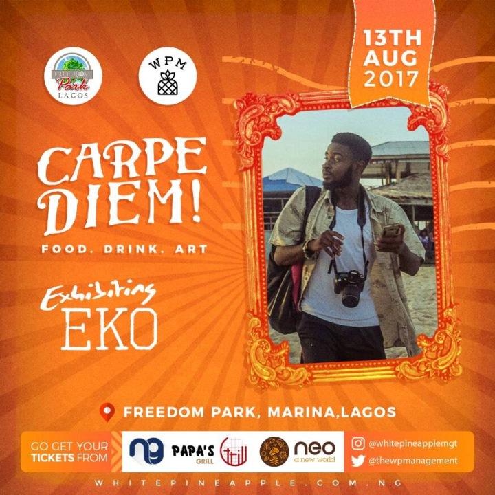 Eko -- Carpe Diem! Freedom Park Food . Drink . Art