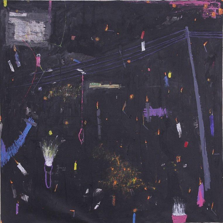 Blacklist (candle night), series ii_ by Habeeb Andu