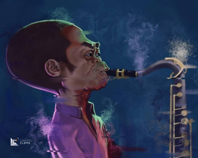 Fela Kuti by @liberto_clems