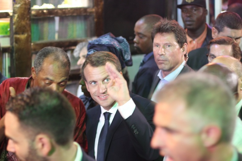 President Emmanuel Macron...